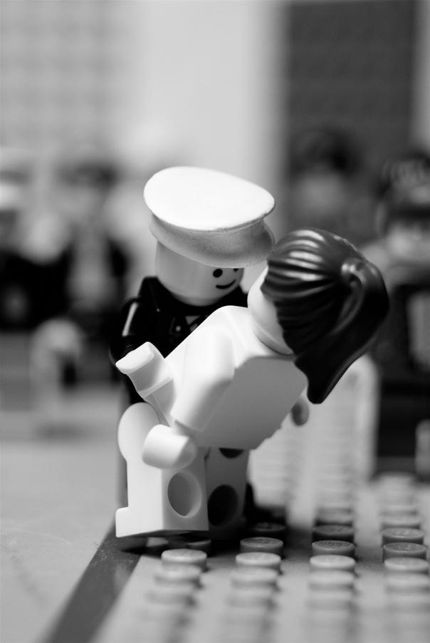 Classic photos with LEGO people!