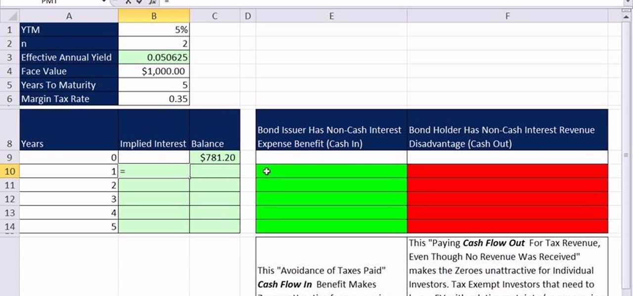 how to create an amortization table in excel