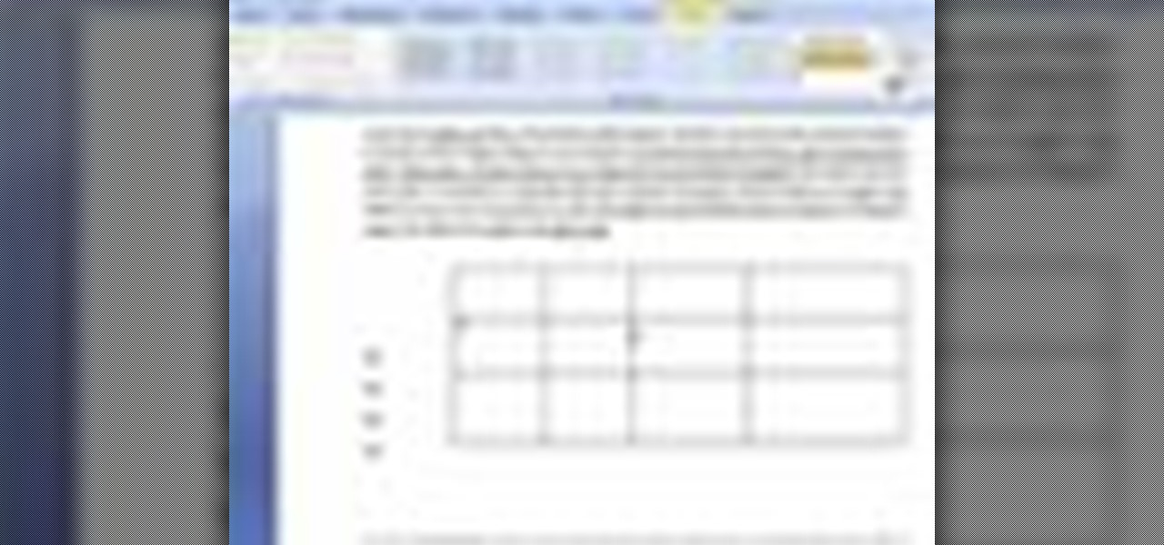 How to create tables in ms word 2007 microsoft office for Table design ms word