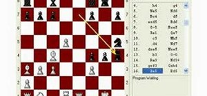 Use the Rice gambit in your chess opening