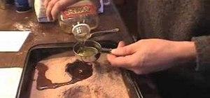 Make a brownie screwball cake