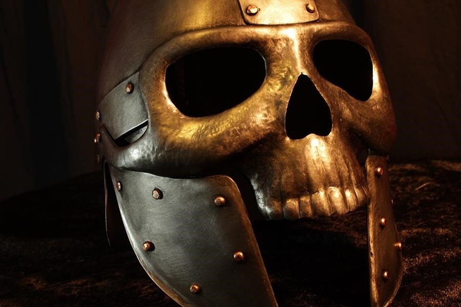 How to Make a Skull Helmet Armor Tutorial