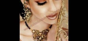 Create Indian bridal inspired makeup
