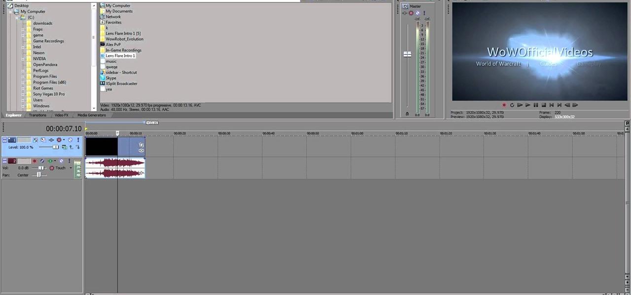 sony vegas 12 720p render settings cinema