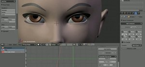 Rig eyes for dilation in Blender