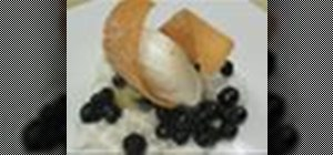 Bake a delicious blueberry mochi cake with coconut tapioca