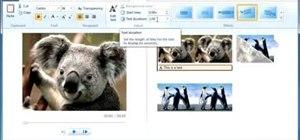 Use Windows Live Movie Maker