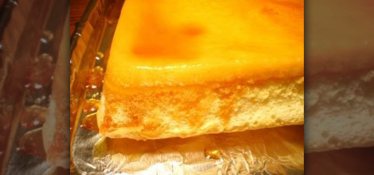 Filipino Cake Recipes With Pictures : How to Make a Filipino-style custard cake   Dessert ...
