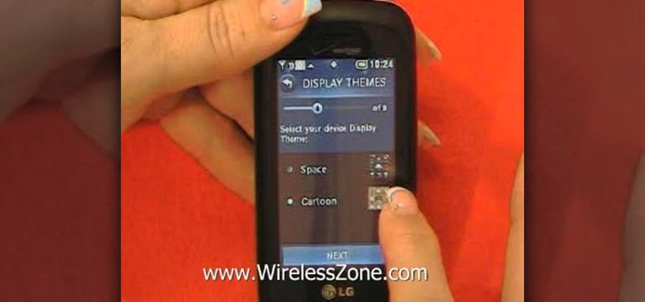 How to Use the Setup Wizard to set up an LG Cosmos Touch ...