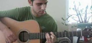"""Play """"Lack of Color"""" by Death Cab For Cutie on guitar"""