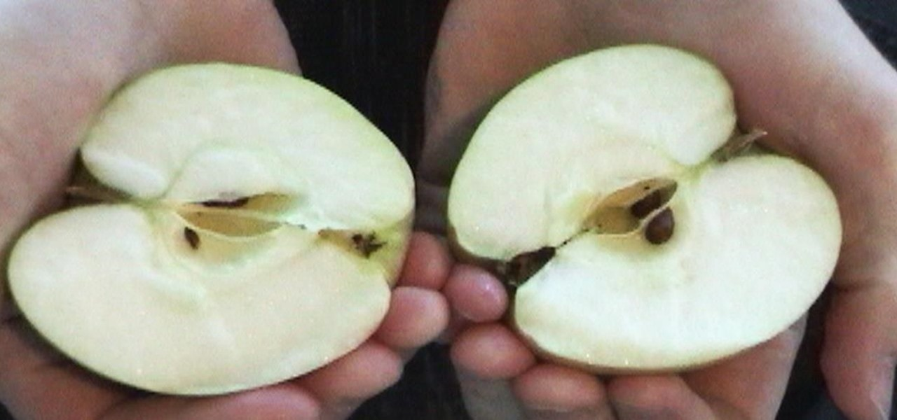 Split an Apple in Half with Your Bare Hands