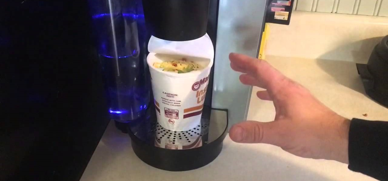 Coffee Maker Cooking Hacks : How to Make Ramen Noodles in Your Keurig Coffee Brewer - Correct Setting Food Hacks :: WonderHowTo