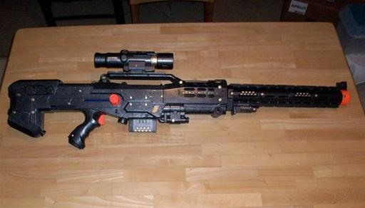 The Web's Nastiest Nerf Gun Mods