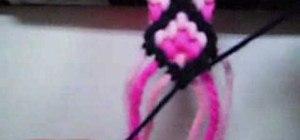 Make cross friendship bracelets