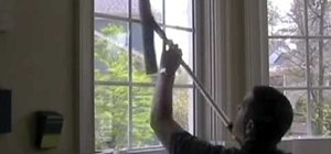 Clean your own inside windows