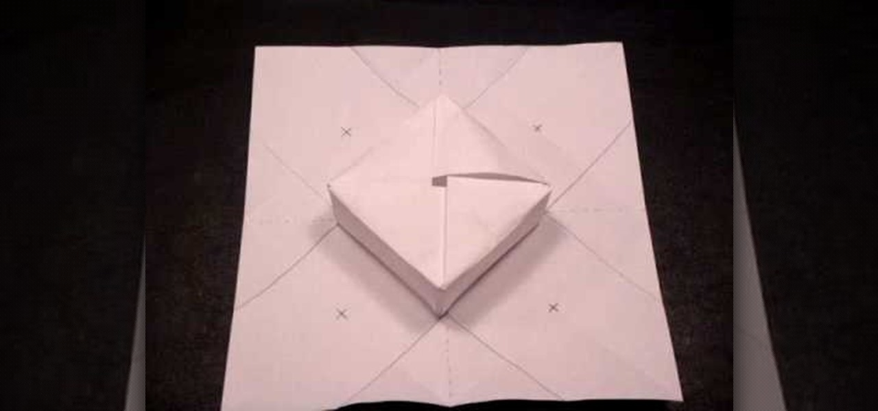How To Make A Paper Origami Gift Box WonderHowTo