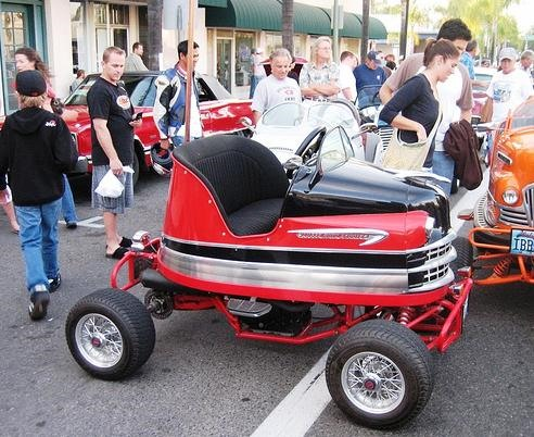 Old Bumper Cars Go Street Legal