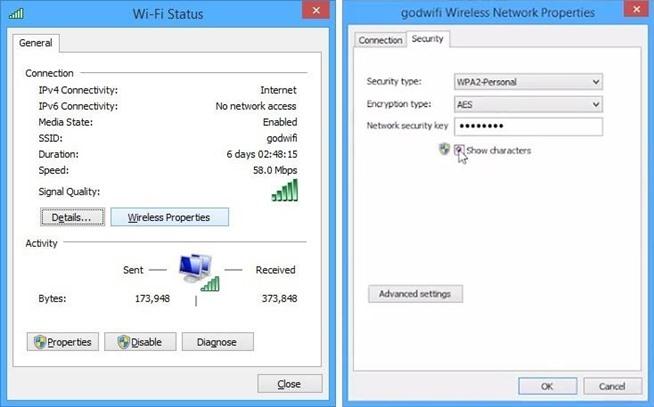 Contraseña Wifi