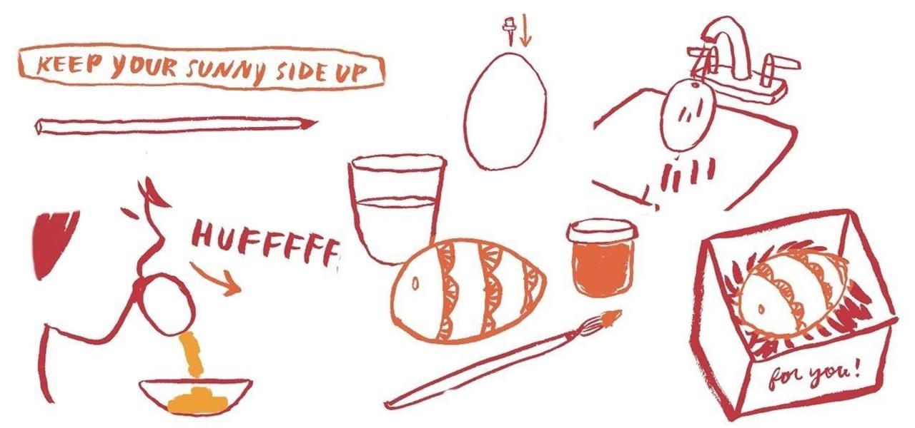 Send a Secret Message Inside an Egg