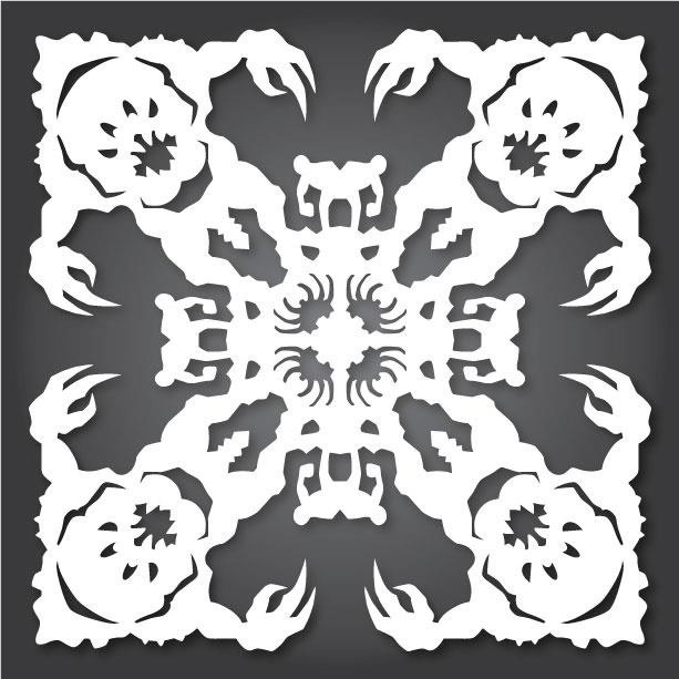 60 free paper snowflake templates star wars style christmas