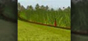 Go thru environmentally sensitive golf course areas