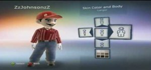 Customize your XBox 360 Avatar to look like Mario