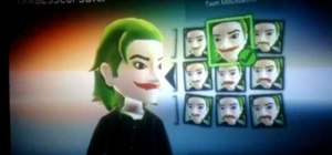 Make a Dark Knight-style Joker Xbox avatar