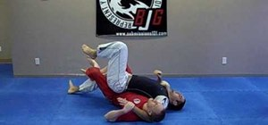 Do a Jiu Jitsu twister from a scarf hold