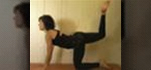 Do yoga warm-up moves to prepare for backbends