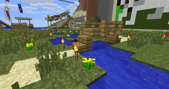 minecraft much to do about gardens - Minecraft Garden Designs