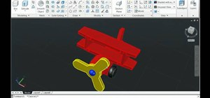 Create a blend between surfaces in AutoCAD 2011