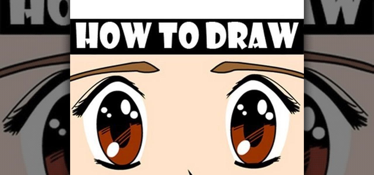 How To Draw Manga Eyes In Adobe Flash WonderHowTo