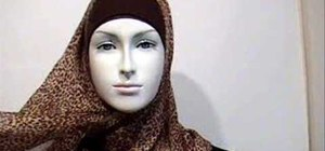 Wear Hijab in a trendy style