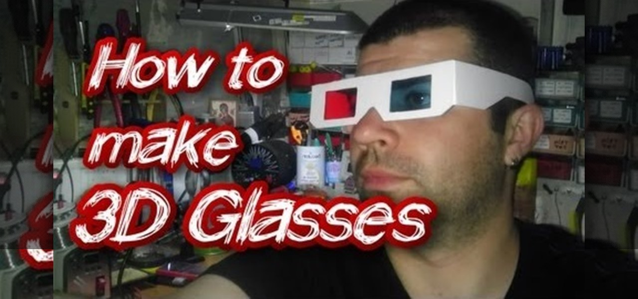 How to Make 3D Glasses « Papercraft :: WonderHowTo