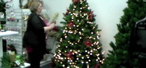 Decorate your Christmas tree inexpensively