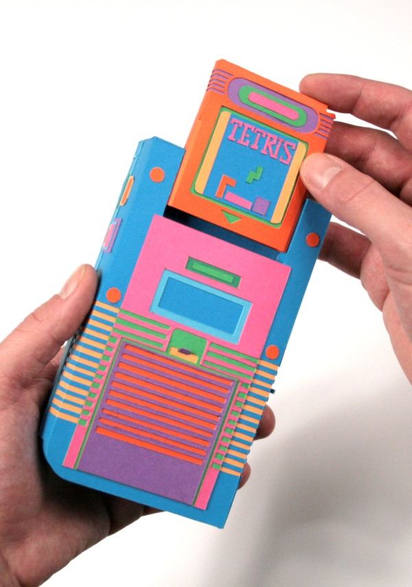 Gameboy Goes Papercraft