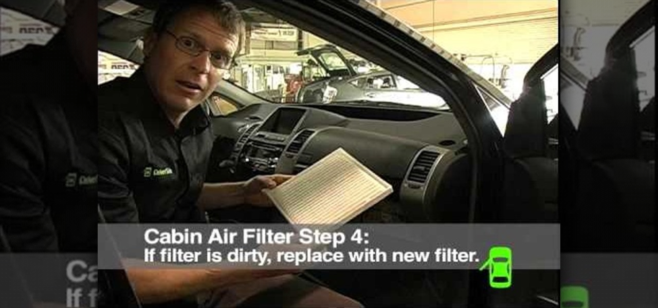 How To Check And Replace Your Cabin Air Filter 171 Maintenance