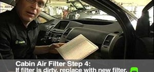 Check and replace your cabin air filter