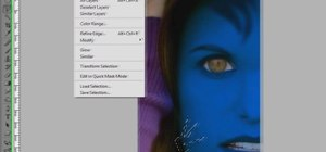 Turn yourself into a Na'vi Avatar in Photoshop