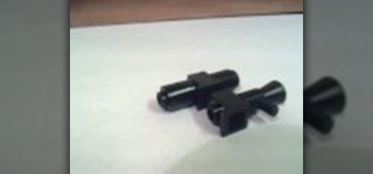 How to Make huge sci-fi guns for your LEGO minifigures « Dolls ...