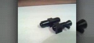 Make huge sci-fi guns for your LEGO minifigures