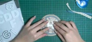Make a circle shaped card