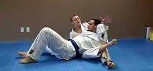 Do the Jiu Jitsu crucifix technique from side control