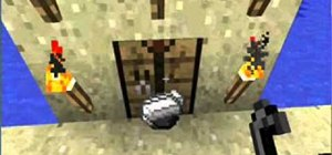 Craft flint and steel in Minecraft