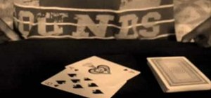 "Perform the ""time machine"" card trick"