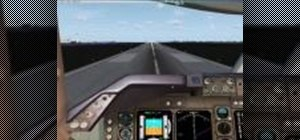Takeoff in a 747-400x in MS Flight Simulator X