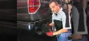 Install an exhaust on a Ford F150