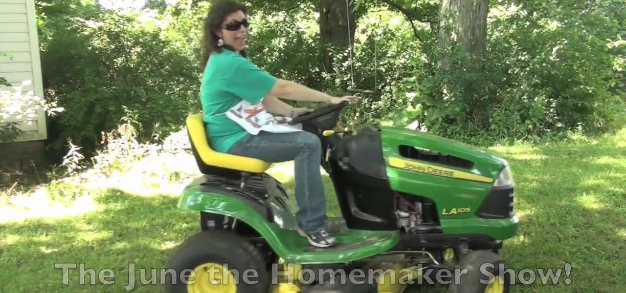 How To Use A Riding Lawnmower To Mow A Large Yard Or Lawn