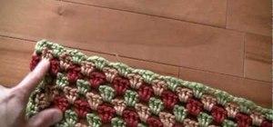 Finish a crochet never ending granny square