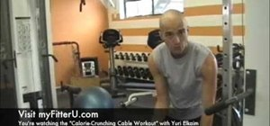 Do a fat burning cable workout